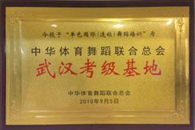 中华体育舞蹈联合总会武汉考级基地